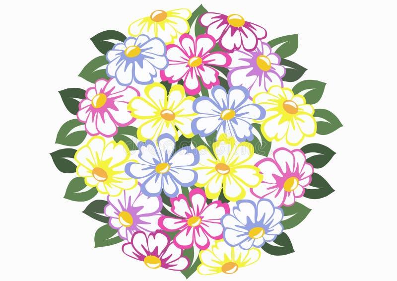 kwiat sfera ilustracji