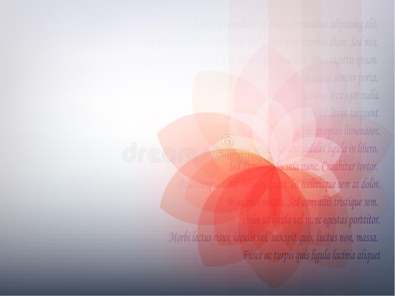kwiat spektralny royalty ilustracja