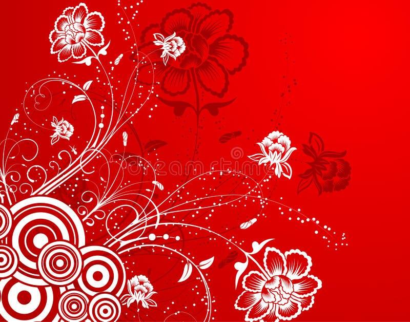 kwiat tła abstrakcyjne ilustracji