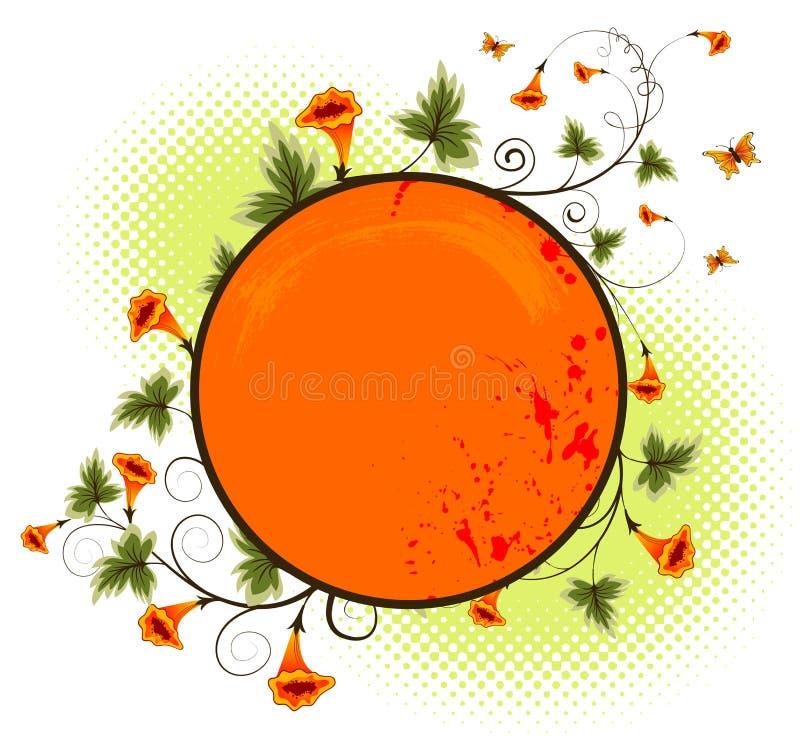 kwiat tła crunch royalty ilustracja