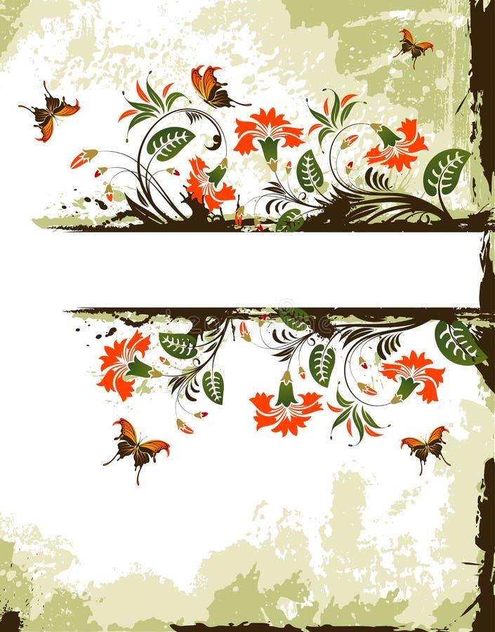 kwiat tła crunch ilustracja wektor