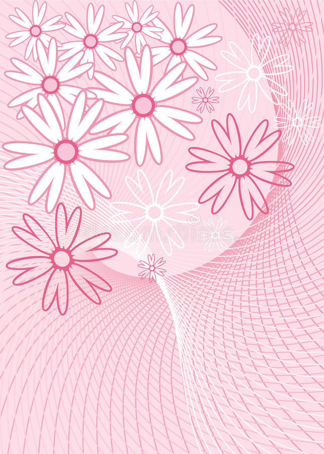 kwiat tła wektora royalty ilustracja