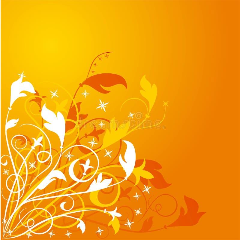 kwiat tła wektora ilustracja wektor