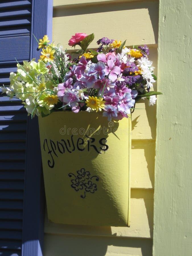 kwiat torby do domu cyny obrazy stock