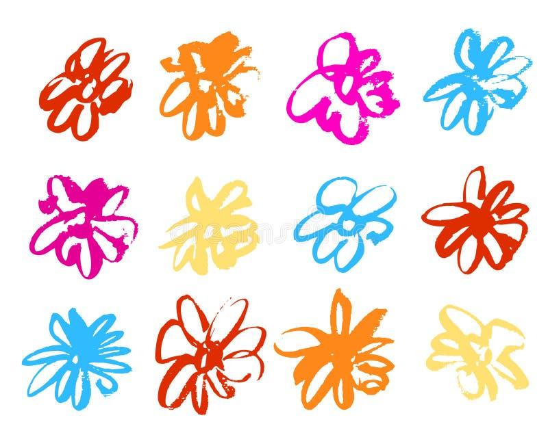 kwiat woda royalty ilustracja