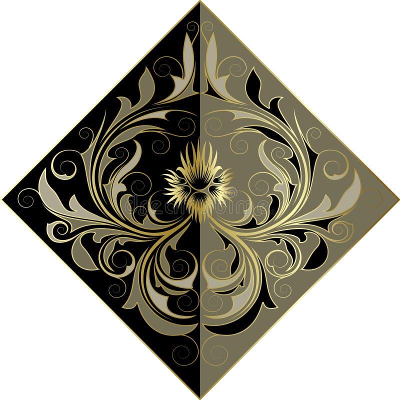 kwiat złoty ilustracji