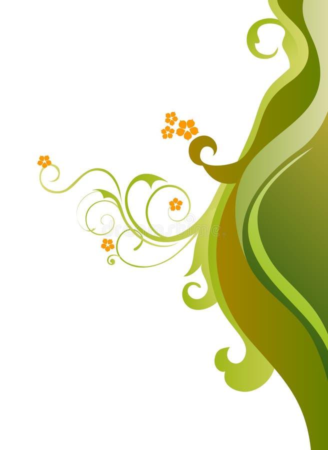 Download Kwiat Zieleń Opuszczać Pomarańcze Dziki Ilustracji - Ilustracja złożonej z kolory, pojęcie: 13341669