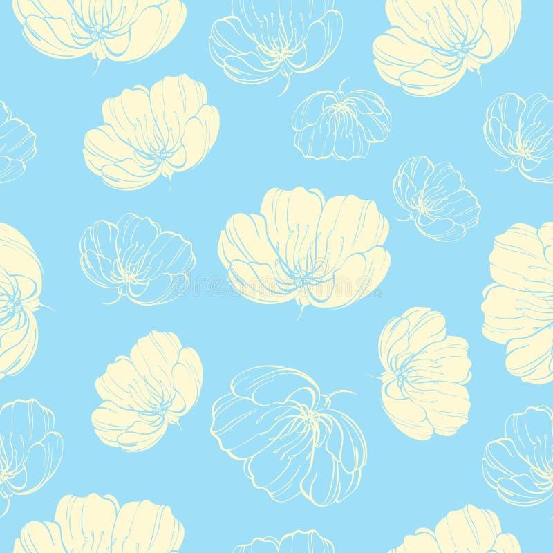 Kwiatu światła wzór zdjęcia royalty free