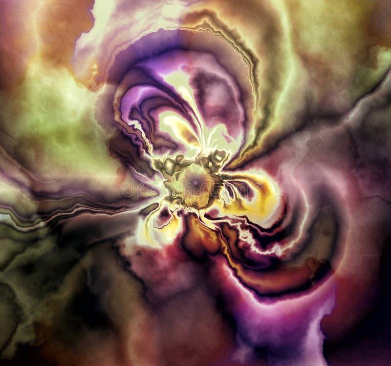 Kwiatu abstrakt Ja obrazy royalty free