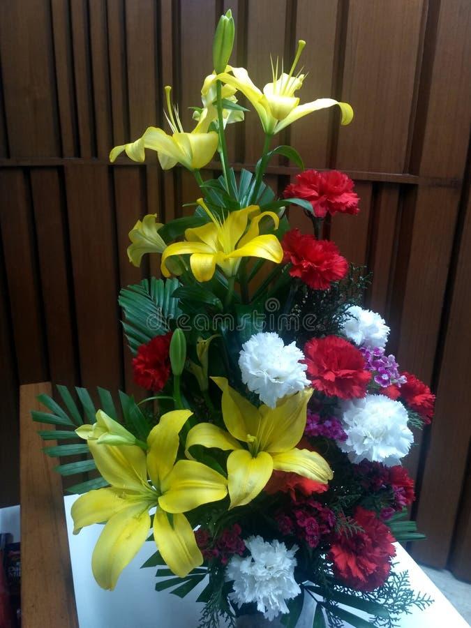 Kwiatu buke zdjęcia stock