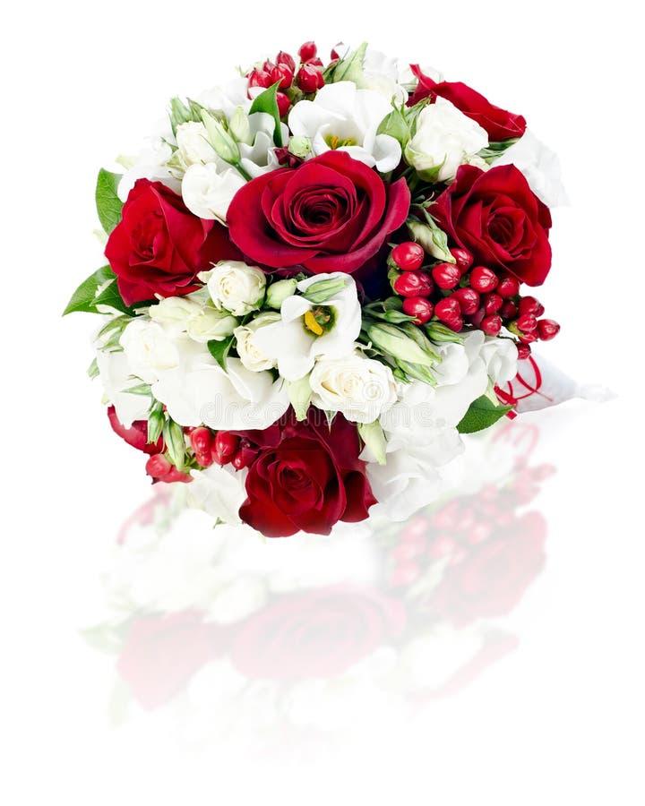 Kwiatu bukieta przygotowania centerpiece obrazy royalty free