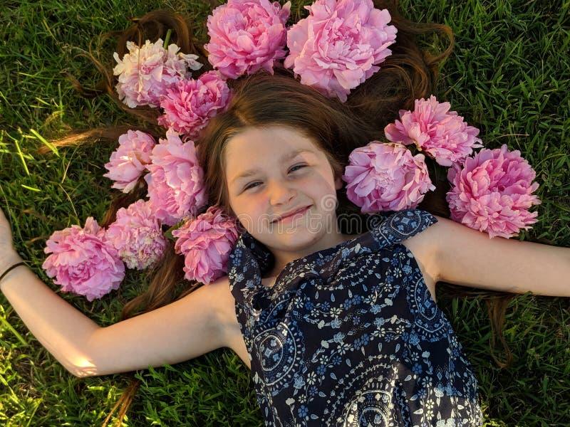 Kwiatu dziecko zdjęcie royalty free
