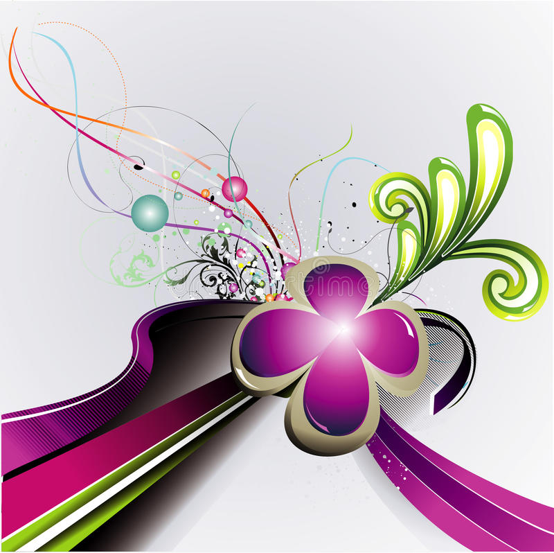 kwiatu ilustraci wektor ilustracja wektor