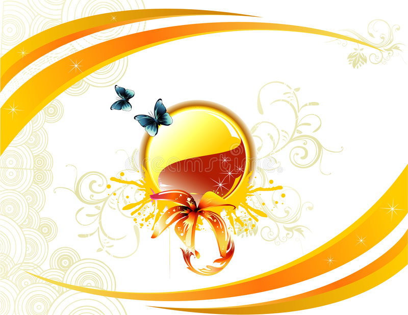 kwiatu ilustraci wektor royalty ilustracja
