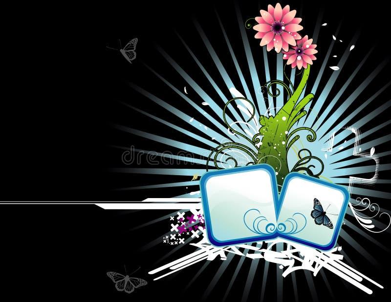 kwiatu ilustraci wektor ilustracji