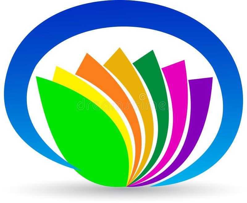 Kwiatu logo ilustracja wektor