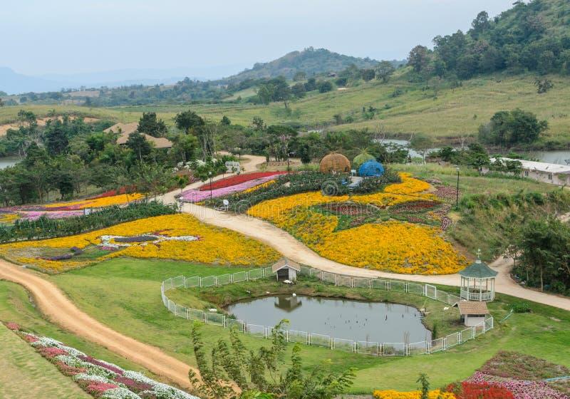 kwiatu ogródu ornamental fotografia stock