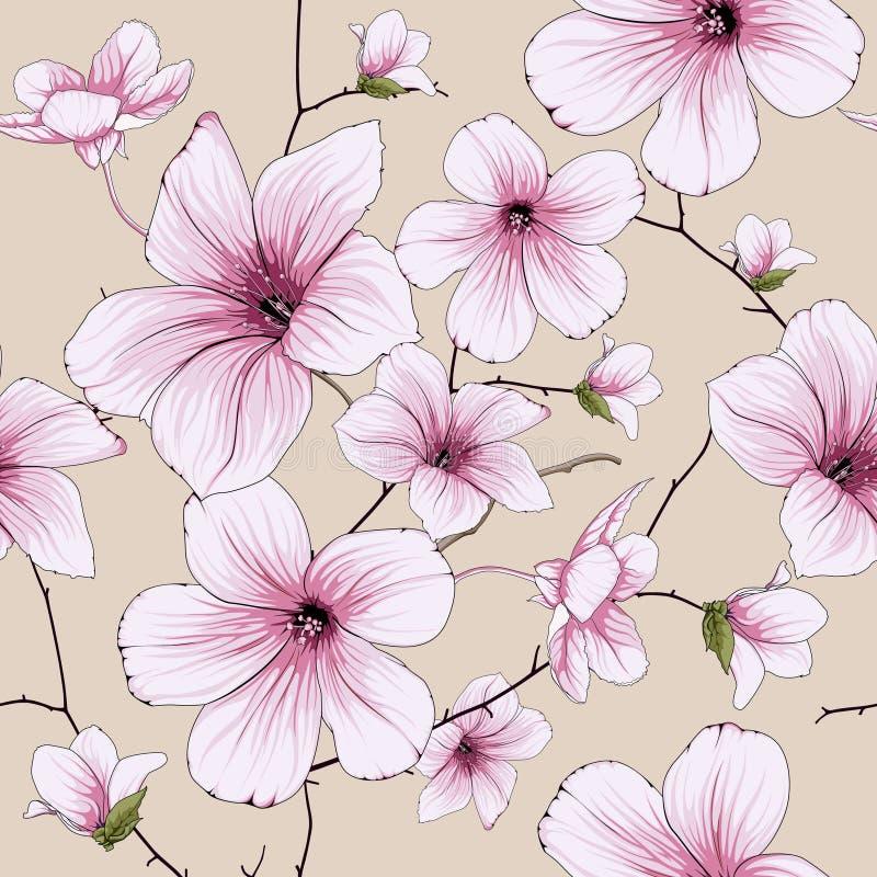 Kwiatu okwitnięcia ilustracja royalty ilustracja