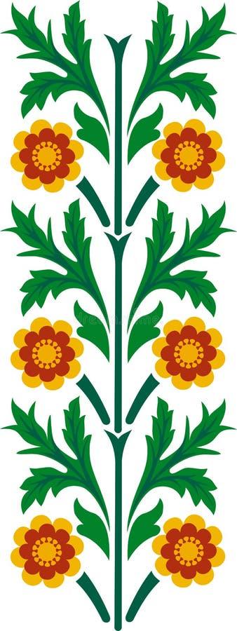 kwiatu ornament ilustracji