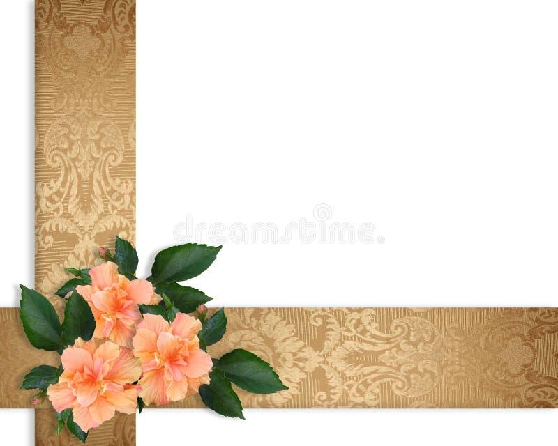 kwiatu rabatowy elegancki poślubnik royalty ilustracja