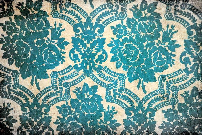Kwiatu rocznika tapeta obraz royalty free