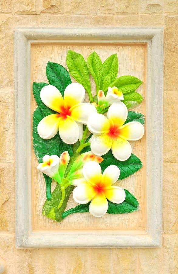 kwiatu stiuk fotografia royalty free