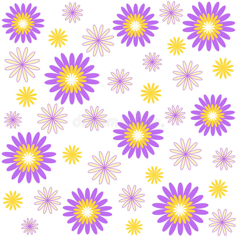 kwiatu wzór ilustracja wektor