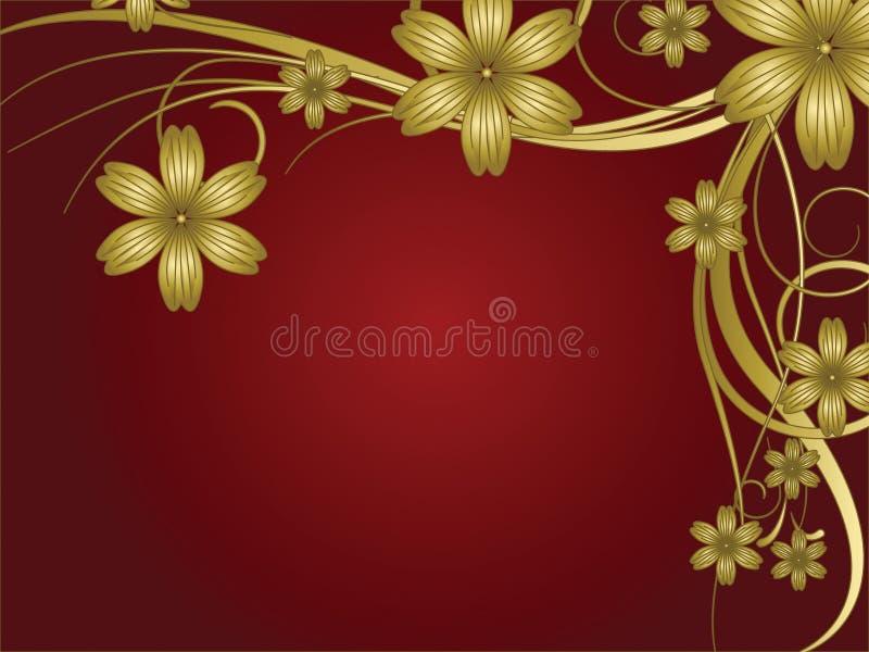 Download Kwiatu wzór ilustracji. Ilustracja złożonej z romans - 13325589