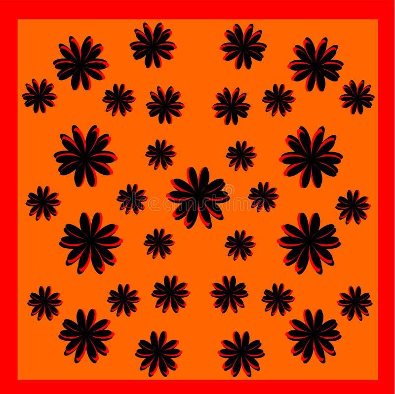 Kwiatu wzoru projekt obrazy stock