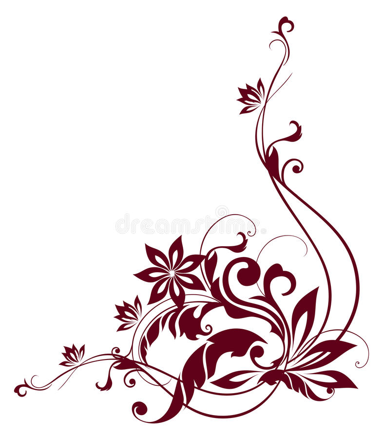 kwiatu wzoru winogrady ilustracja wektor