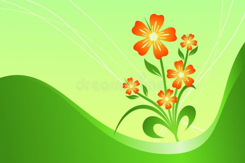 kwiaty ilustracja wektor
