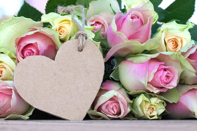 Kwiaty dla valentines lub matek dnia fotografia stock