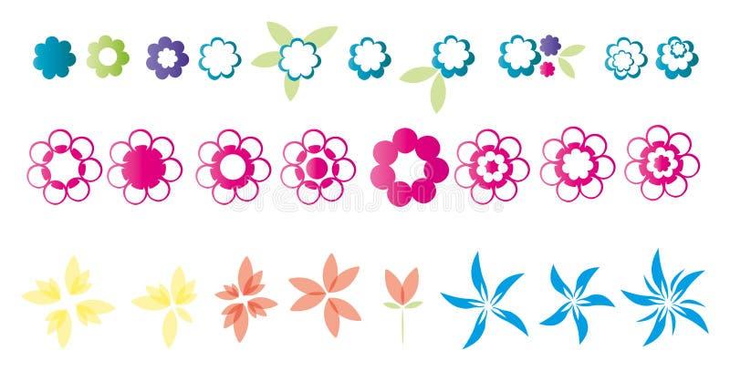 kwiaty ilustrację fotografia royalty free