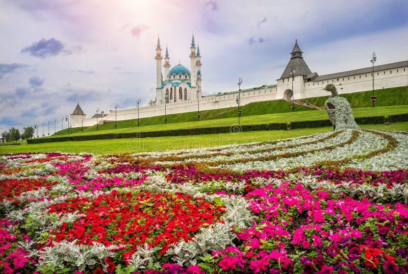 Kwiaty Kazan zdjęcie stock