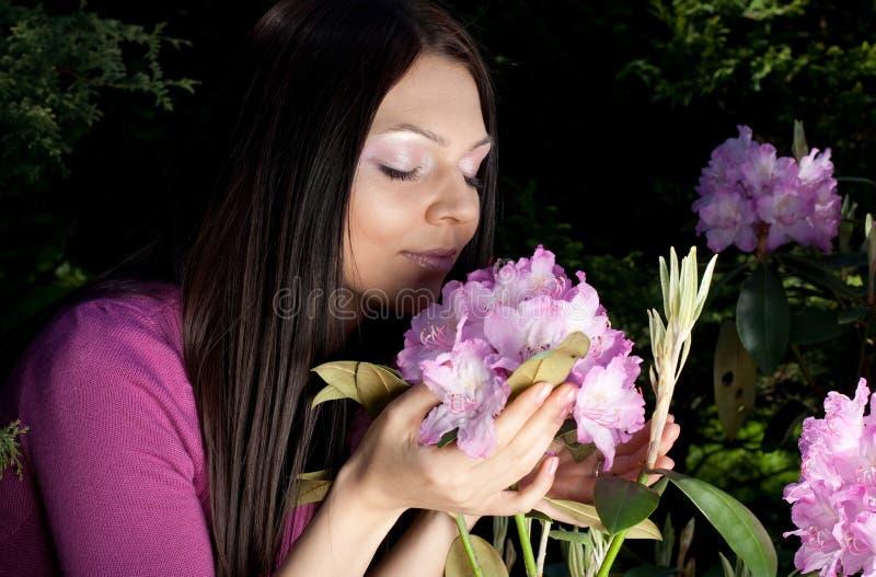 kwiaty kobieta target1746_0_ niektóre kobiety obraz stock