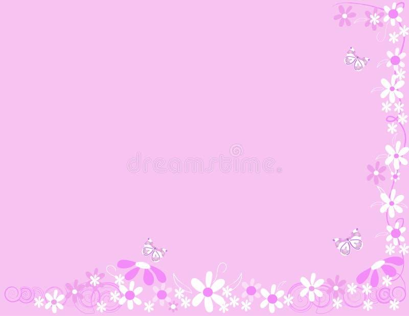 kwiaty motyla royalty ilustracja