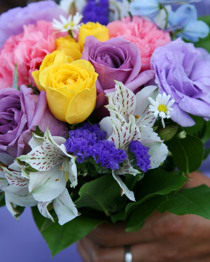- kwiaty na ślub obraz royalty free