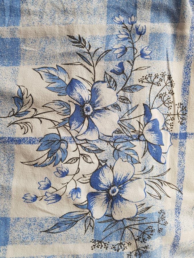 Kwiaty na duvet zdjęcie royalty free