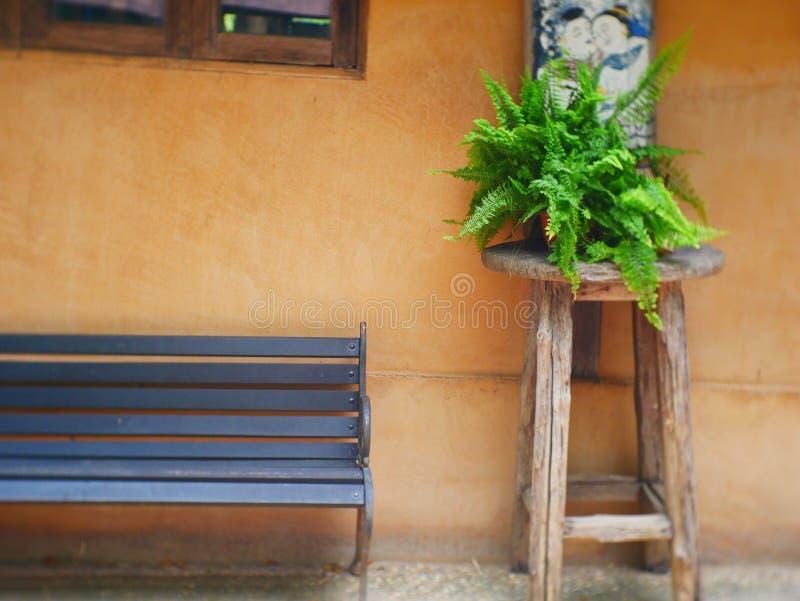 Kwiaty na spiżarni przeciw brąz ścianie z plakatami w minimalnym żywym izbowym wnętrzu obrazy royalty free