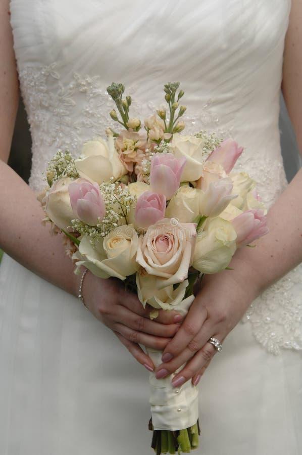 kwiaty nazywają ślub obrazy stock