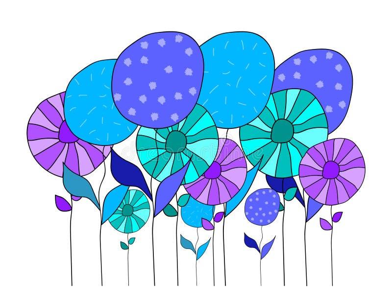 Kwiaty różni kolory zdjęcie royalty free