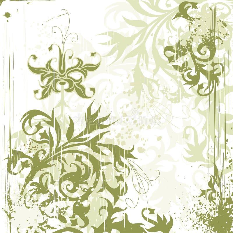 kwiaty rocznego tło ilustracja wektor