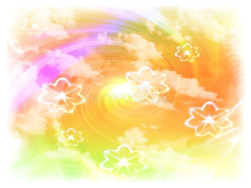 Download Kwiaty tło ilustracji. Obraz złożonej z koperta, papier - 5937872