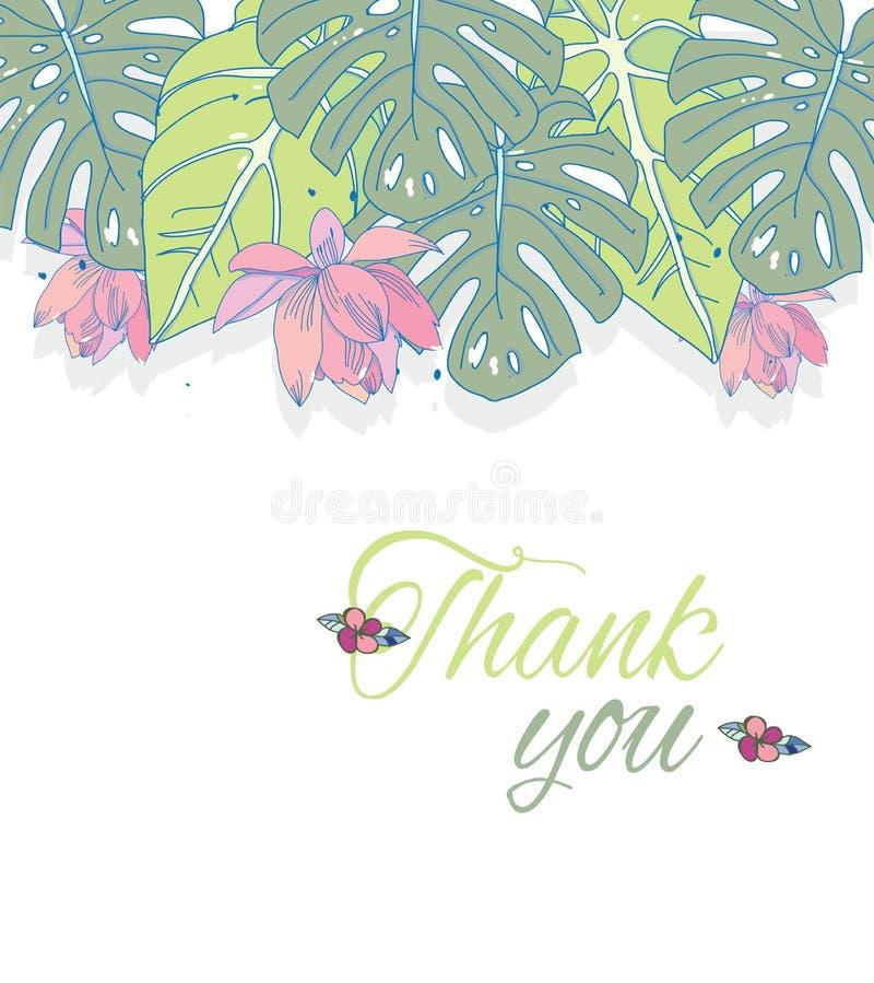 kwiaty tropikalnego ilustracji