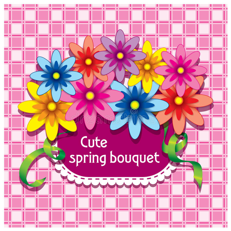 Kwiaty w kieszeni obraz royalty free
