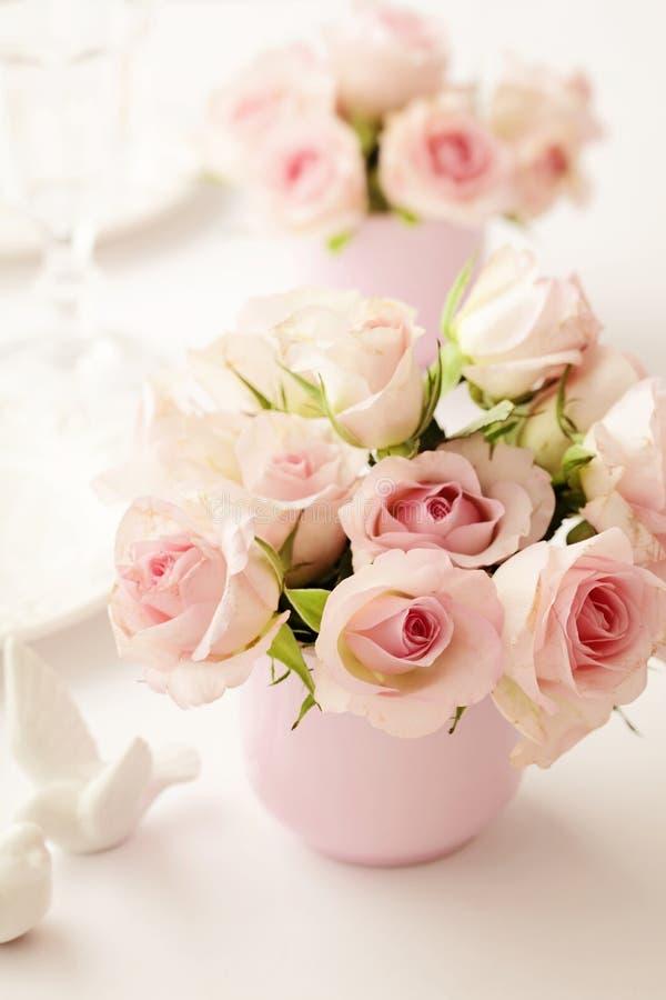 Kwiaty w wazie zdjęcie stock