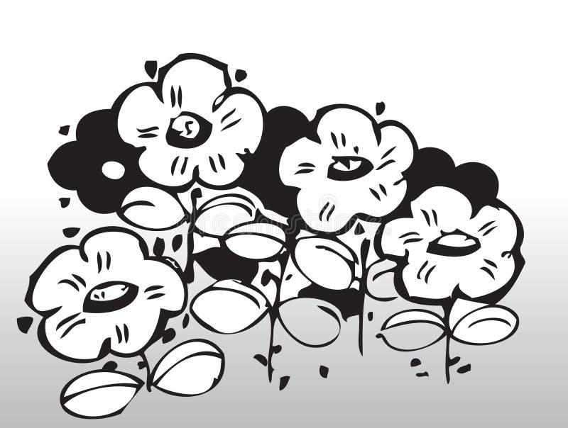 kwiaty wektora ilustracja wektor