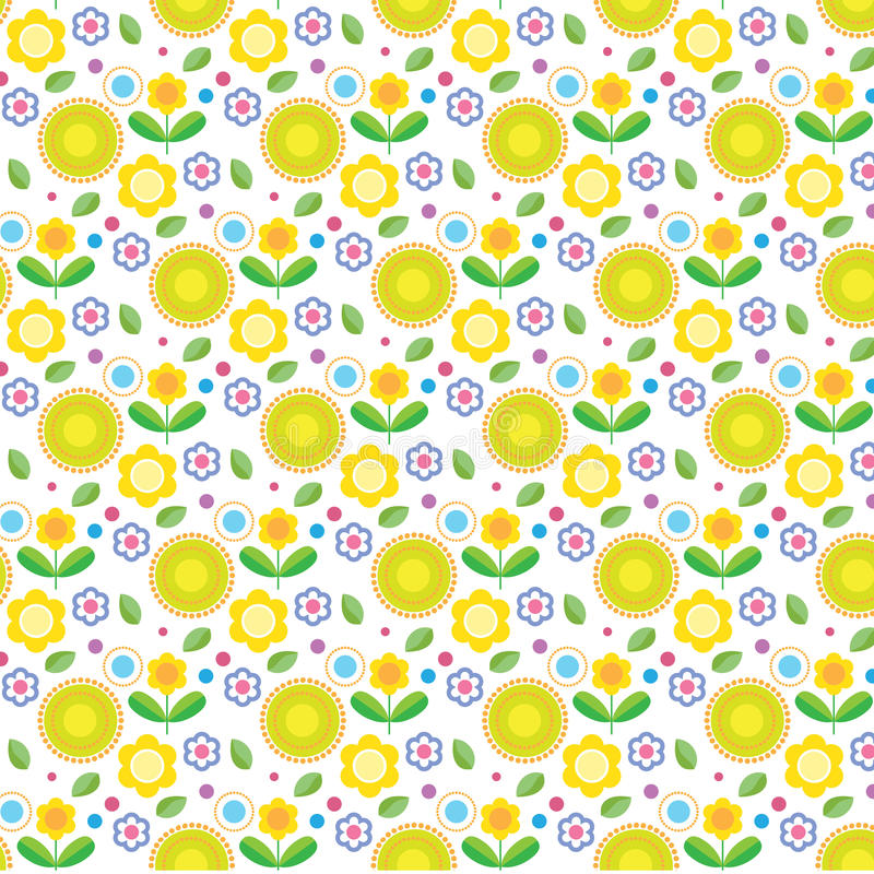 Download Kwiaty z powrotem ilustracja wektor. Ilustracja złożonej z przestrzeń - 28954872