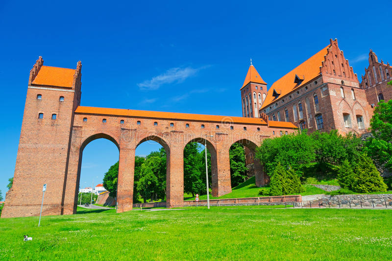 Kwidzyn castle and cathedral
