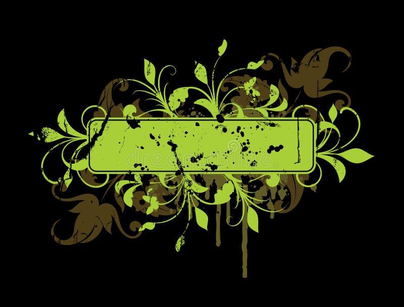 kwieciści sztandarów elementy ilustracja wektor